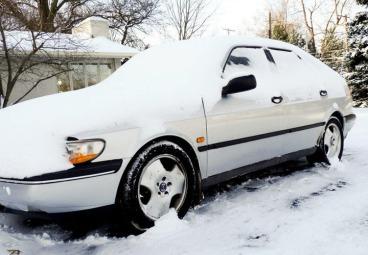 snow saab