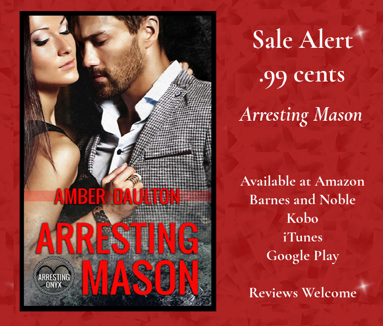 Arresting Mason sale graphic